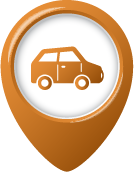 Car Pin Icon