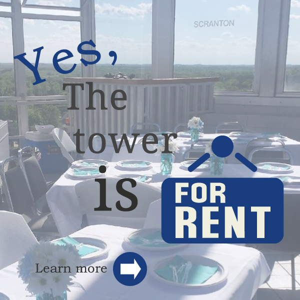 Yes! You can rent the tower!